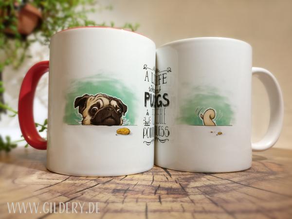 """Tasse """"Pugs Life"""""""