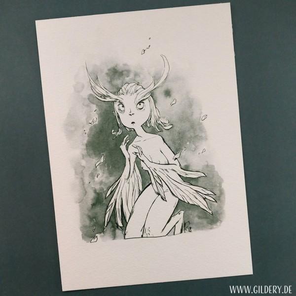"""Artprint """"Harpye"""""""