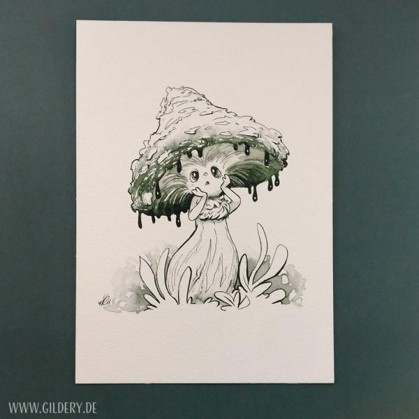 """Artprint """"Shroom Girl"""""""