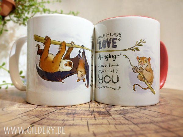 "Tasse ""Love hanging with you"""