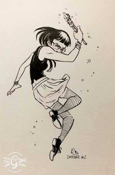 "Artprint ""Magical Girl"""